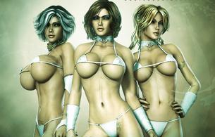 3d, sexy, hot, fantasy, boobs, big tits