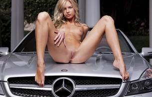 blonde, hot, sexy, babe, spread legs, pussy, tits, francesca, mercedes-benz, mercedes, franziska facella