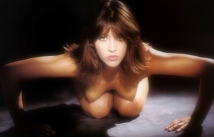 sophie marceau, fake, brunette, sexy, cute, boobs, tits