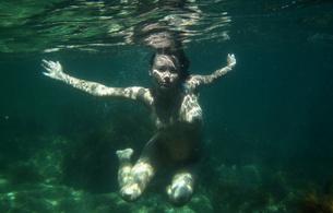 nude, underwater, brunette, sea, sexy, erotic, outdoor, boobs, delicious