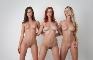 caprice, ariel, carisha, boobs, pussy, trimmed, sexy, hot, trio, ariel piperfawn, little caprice, three, 3 babes, nice tits, nipples, hi-q