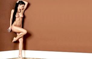 brunette, sexy girl, hot, delicious, natural, nude, melisa, lexa, melisa mendiny