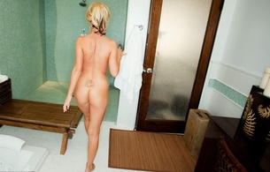 niki benz, blonde, ass, nude, nikki benz