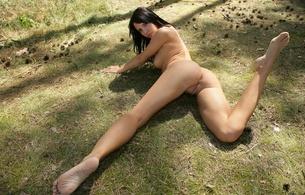 monika vesela, brunette, nude, naked, girls, sexy, amateur, model, outdoor, hot, ass wallpaper