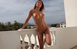 blonde, nude, public, nature, alexa, boobs, big tits, alexa varga