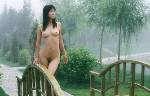 guan weiqi, brunette, mist, asian, sexy girl, hot, delicious, natural, nude, amateur, small tits, tits