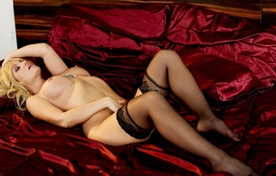 angela sommers, blonde, sexy girl, nude, naked, stockings, boobs, tits, http://www.meendo.net/?logo=&partner=4005