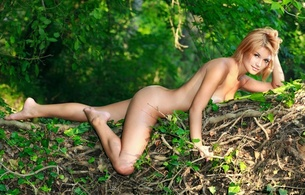 violla a, red hair, nude, naked, girls, sexy, amateur, model, outdoor