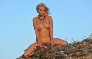 ella c, beauty, hot, sexy, legs, pussy, tits, blonde, boobs, big tits, isabella d, tan lines, meat curtains, tanlines, huge areola, outside, meaty pussy, butterfly pussy, hottie