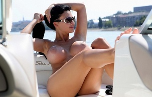 aletia ocean, pornstar, boobs, tits, breasts, busty, nipples, brunette, legs, sunglasses, aletta ocean, melons, jugs, norks, gazongas, knockers, hooters, funbags, glamour, breathtaking fake boobs