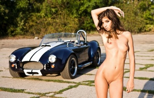 girl, ford, sexy, brunette, tits, pussy, cobra, cute, nude, ford shelby cobra, nika, natalia lobo, shaved pussy