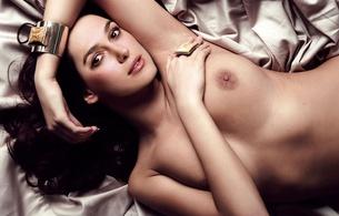 keira knightley, actress, brown hair, nude, fake