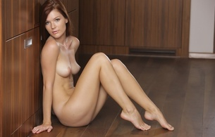mia sollis, sexy girl, nude, naked, sexy legs, thighs, hooters, boobs, tits, bust, breasts, nipples, long hair, view, look