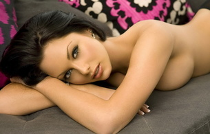 jessica jane clement, brunette, beautiful, breast