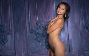 karmen t, brunette, sexy girl, nude, naked, shrima malati