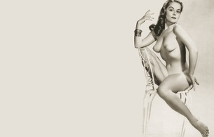 diane webber, retro, sexy babe, diva, model, dancer, playboy, marguerite diane webber, marguerite empey, art, erotic, erotic art, brunette, tiny tits, minimalist wall, pin up style, pin up, hi-q, real celebs wall