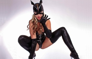 sybella, amateur, blonde, german, curvy, milf, slim, model, sexy babe, long hair, posing, shiny clothes, black, lycra, corselet, string, stockings, mask, gloves, catwoman, sexy, decollete, hi-q, tight clothes, cameltoe, legs, high heels, fetish babe, dressed for sex, lingerie series