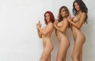 micaela schaefer, german, professional nudist, model, brunette, girlfriend, 3 babes, girlfriends, nude, boobs, sexy babe, three, micaela, starlet, blonde, brunette, redhead, minimalist wall, own cut, betty ballhaus, nikita black, perfect bodyes, perfect tits