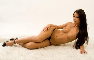 melisa mendiny, kristina uhrinova, kristina walker, lexa, model, brunette, beautiful, long hair, legs, boobs, breasts, body, panties, amazing, erotic, sexy, hot, sexy legs, beauty, nude, thong