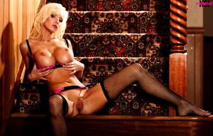 model, girl, blonde, lingerie, boobs, tits, hailey young, bikini