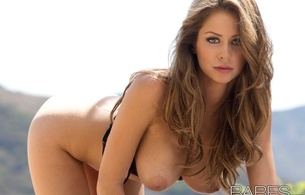 emily addison, model, brunette, face, boobs, beauty, skinny, delicious, sexy, large areola, tits out, long hair, hottie