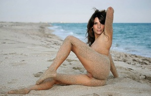 sandra bullock, actress, fake, beach, sandy girl