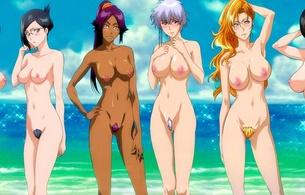 anime, bleach, hentai, beach