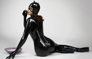 brunette, model, sexy babe, long hair, sitting, posing, black, shiny, latex, lingerie, catsuit, fullsuit, mask, corset, pvc, knee boots, nice rack, sexy ass, rubber, fetish, cosplay, catwoman, hi-q, lingerie series, tight clothes, rubberdoll, erotic, masked, babes in boots, sexy, ass wallpaper, dressed for sex