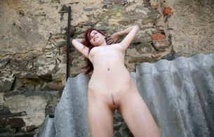ariel, ariel piper fawn, model, redhead, boobs, tits, breasts, pussy, sexy, nude, beauty, amazing, beautiful, gorgeous, great view, perfect, body, wall, hi-q, beautiful body