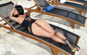 melisa mendiny, kristina uhrinova, kristina walker, lexa, model, brunette, pussy, big ass, legs, sexy, hot, beauty, smile, perfect ass, butt, amazing, beautiful buns, hot ass, high heels, sexy legs, juicy, super ass, black hair, ass wallpaper