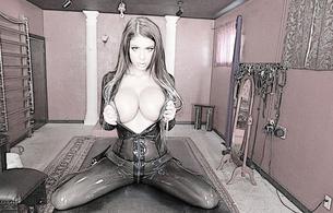 brook ultra, sexy babe, fetish, latex, milf, big tits, boobs, brunette, busty, bitch, posing, kneeling, flashing, big boobs, knockers, funbags, fake boobs, big tits, shiny, rubber, fetish