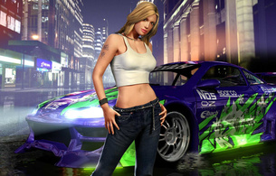 sexy, girls, need for speed, wallpaper, cute, sexy, teen, girls, hot, underground, most wanted, hot teens, sexy teen, blond, blonde