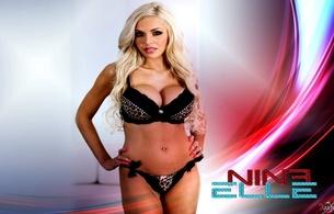 nina elle, milf, blonde, delicious, perfect body, hazel eyes, sexy bitch, xartistx design
