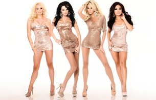 4 babes, alektra, jessica, kaylani, stormy, minimalist wall, photoshopped, stormy daniels, kaylani lei, jessica drake, amazing, sexy, gorgeous, perfect, dress, sexy legs, background, alektra blue, tight clothes, long legs, high heels, erotic, shiny clothes, four, group, all, enhanced boobs