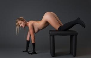 carisha, sexy girl, adult model, nude, naked, slovak, sexy pose, ass, butt, buttocks, arse, bum, ляжки, ers, hi-q, sexy, ass wallpaper