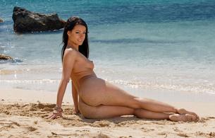 melisa mendiny, brunette, sexy girl, adult model, czech, nude, naked, hot body, ass, butt, buttocks, arse, bum, попка, legs, ляжки, water, sand, beach, long hair, view, look, kristina walker, kristina uhrinova, carrie du four, lexa, melisa a, hi-q, hot, ass