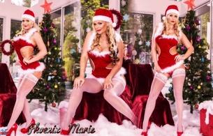phoenix marie, blonde, tits, funbags, ass, xartistx design, christmas