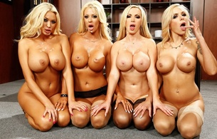 blowjob, cumshot, facial, cum, sperm, dick, wallpaper, courtney taylor, nikki benz, nina elle, summer brielle, whores, 4 babes, posing, kneeling, big tits, boobs, juggs, fake tits, creamed, cum, 4, bitches, super boobs