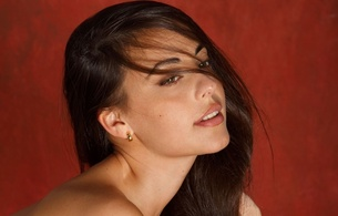 lorena garcia, brunette, sexy girl, adult model, spanish, lovely face