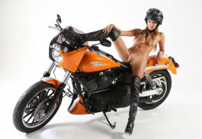 katya clover, motorcycle, hd, nude, shaved, pussy