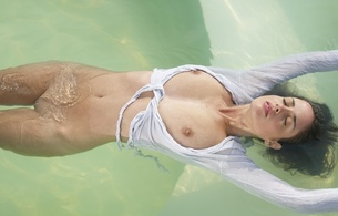 muriel, model, brunette, boobs, breasts, amazing, sexy, beautiful, beauty, face, eyes, lips, nipples, perfect, body, pussy, wet, wet hair, wet body, wet boobs, gorgeous, great view, water, hi-q, floating, skinny, delicious, sexy, small tits, tiny tits, pe