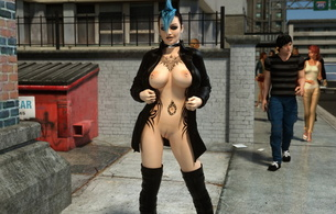 3d vector girl, zoey loves, fantasy, anime, erotic, skinny, delicious, sexy, perfect girl, tippy toes, hot ass, perfect body, perfect tits, perfect breasts, piercing, tippy toes, nipples, puffy nipples, tatoo, bdsm, bondage, boot