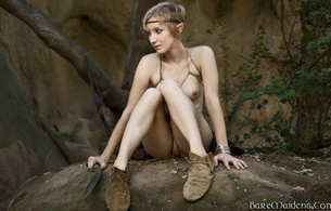 syrina, fantasy, elf, woods, strina a, syrina a, skinny, delicious, sexy, small tits, tiny tits, perfect girl, tippy toes, hot ass, perfect body, perfect tits, perfect breasts, nipples, puffy nipples, perfect pussy, shaved, knife