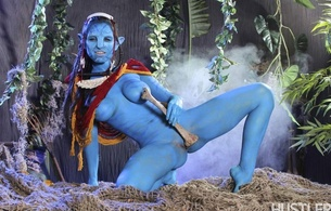 avatar, fantasy, xxx, nude, porn, funny, cool, na'vi, exy babe, long hair, dreadlocks, posing, naked, nice tits, nipples, blue skin, tasty, shaved, cunt, legs, spread wide