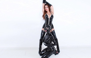 sulina, brunette, amateur, mistress, model, busty, sexy babe, long hair, girlfriend, slave, rubberdoll, black, latex, lingerie, corselet, stockings, catsuit, fullsuit, mask, pvc, knee boots, erotic, shiny, rubber, fetish, ultra, hi-q, minimalist wall, own cut, babes in boots, fetish babe, ultra hi-q, super boobs, plateau heels, 2 babes, enhanced boobs