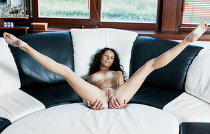 swan a, models, brunette, smile, pussy, nude, ass, hi-q, posing, laying, smile, long legs, spread wide, present, tasty, shaved, cunt, nice tits, nipples, tanlines, meaty pussy, long legs