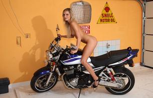paola, blonde, suzuki, motorcycle, naked, big tits, nipples, ass, long legs, neilla, neila, neilla feline, pamela, paola b, paula, perla, petra, petra k