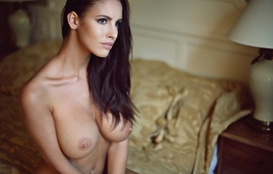 lucia javorcekova, luciana, model, glamour, brunette, big boobs, big breasts, amazing, sexy, beautiful, big tits, nude, beauty, face, eyes, perfect, long hair, gorgeous, busty babe, nipples, hi-q, erotic, hot, hottie, seductive, elegant
