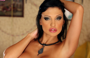 aletta, aletta ocean, beauty, beautiful, brunette, eyes, look, pornstar, necklace, hungarian, hungarian pornstar, lips, black hair, amazing, hot, hottest, sexy, hottie, girl, hot girl