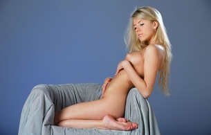barbara d, blonde, sexy girl, adult model, russian, nude, naked, xana, gorgeous body, long hair